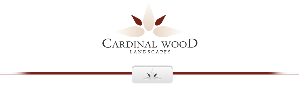 Cardinal Wood Landscapes Logo - enable images in your browser to view